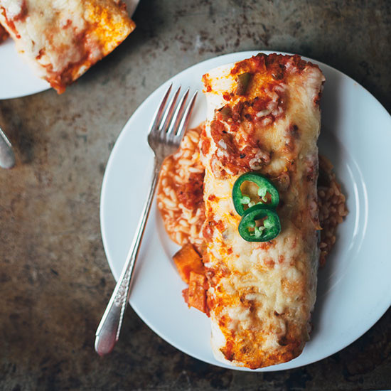 Vegetarian Breakfast Ideas No Eggs  Ve arian Breakfast Enchiladas with Eggs and Sweet