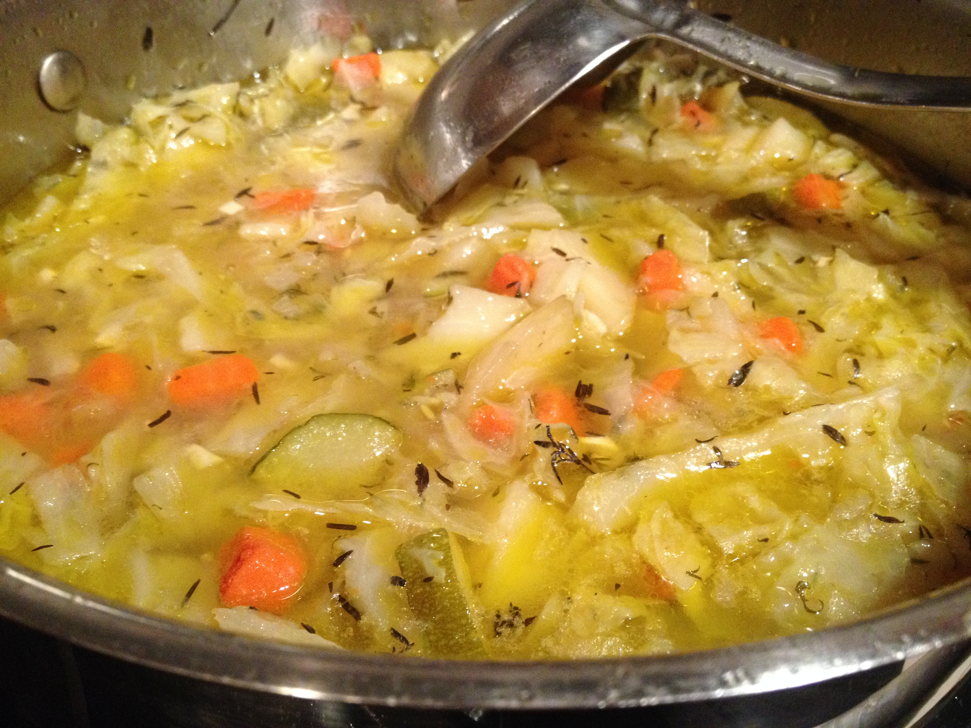 Vegetarian Cabbage Soup  Cabbage Soup λαχανόσουπα