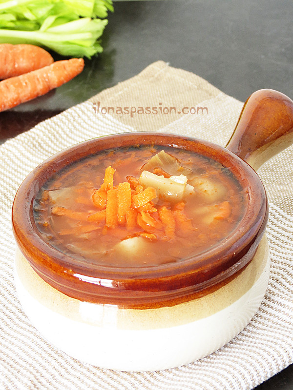 Vegetarian Cabbage Soup  Ve arian Cabbage Soup Ilona s Passion