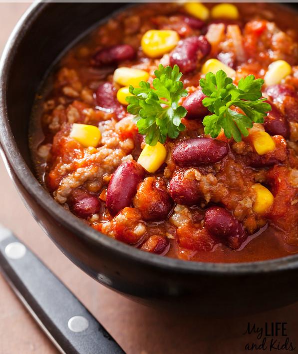 Vegetarian Chili Recipe Crock Pot  Awesome Crock Pot Chili Recipes