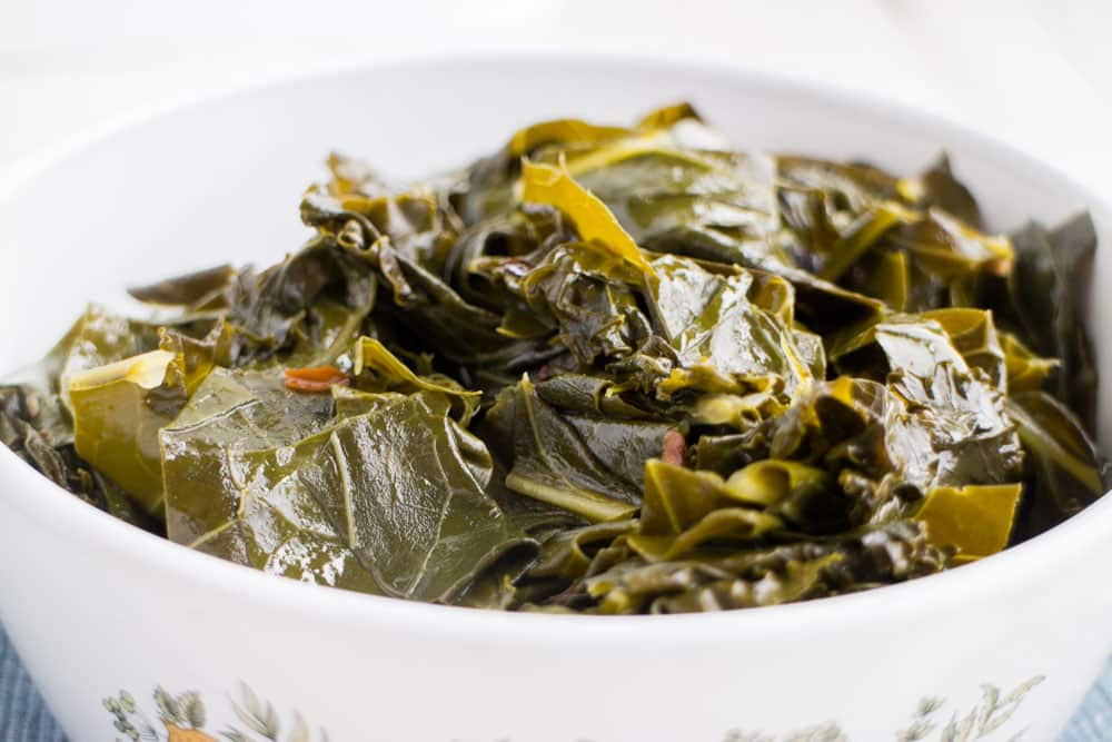 Vegetarian Collard Greens  easy collard greens recipe ve arian