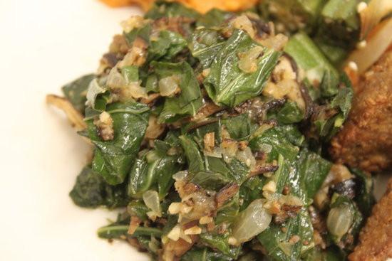 Vegetarian Collard Greens  Ve arian Healthy Collard Greens Recipe