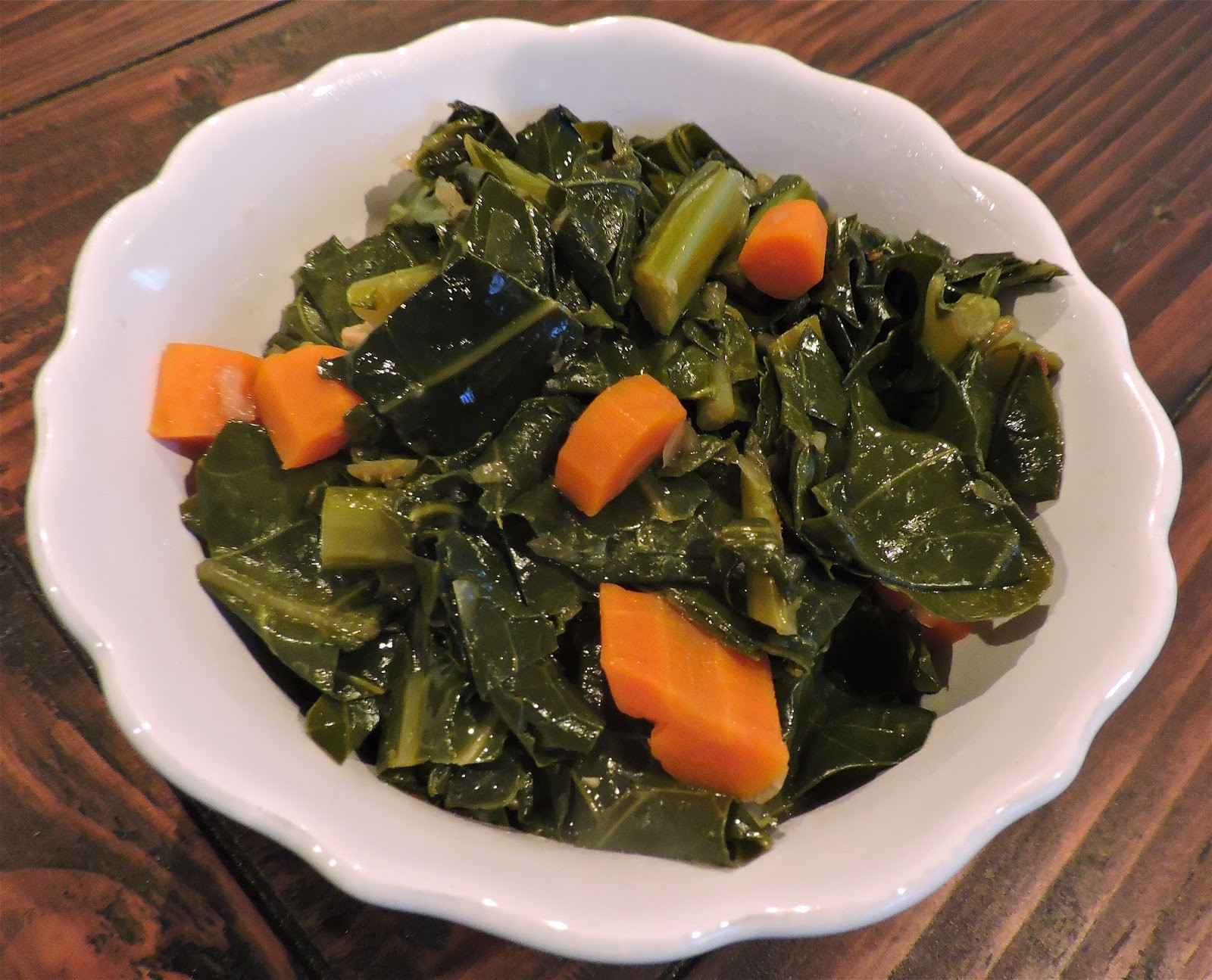 Vegetarian Collard Greens  Tomatoes on the Vine Eat Your Greens Ve arian