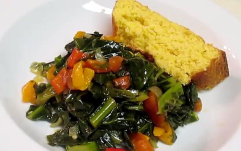 Vegetarian Collard Greens  Ve arian Collard Greens By foodfirst