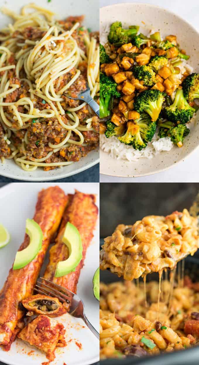 Vegetarian Dinner Recipes  25 Best Ve arian Recipes Build Your Bite