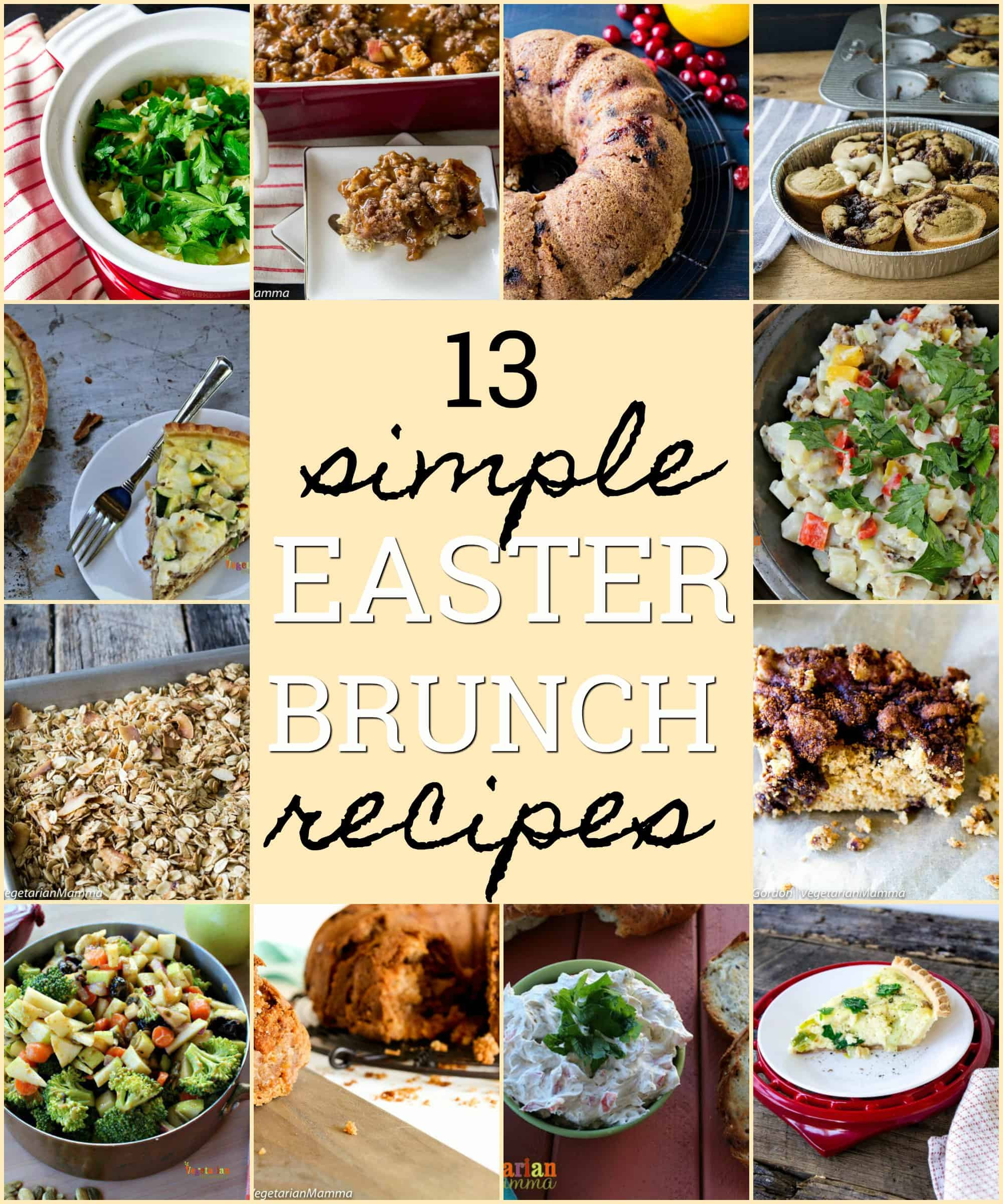 Vegetarian Easter Brunch Recipes  12 Family Approved Easter Brunch Recipes