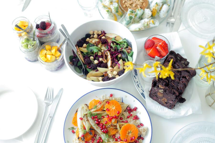 Vegetarian Easter Brunch Recipes  Vegan Easter Brunch Menu Happy Earth Kitchen