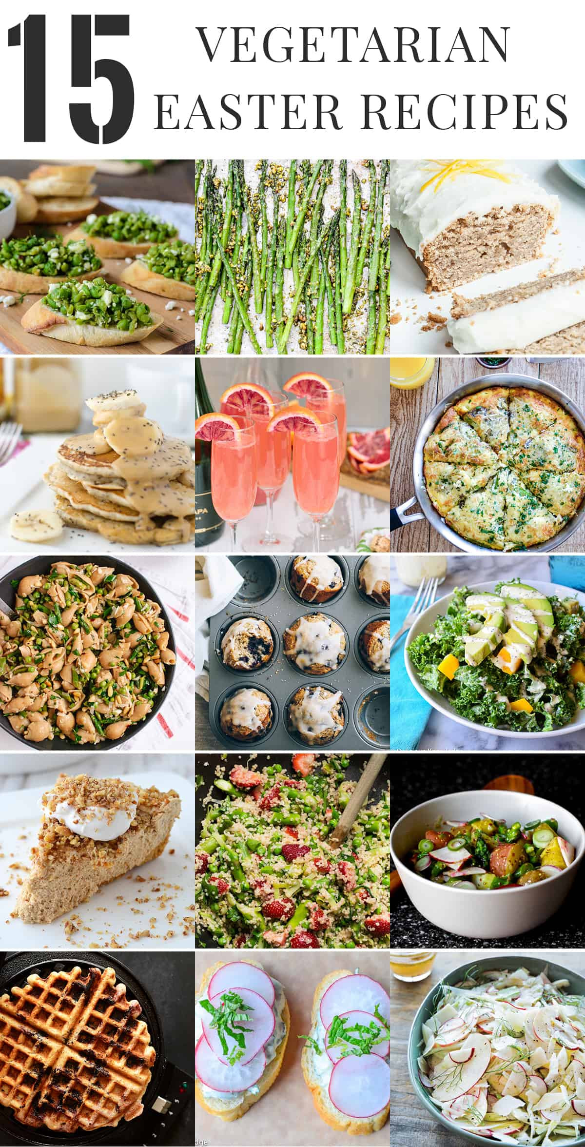 Vegetarian Easter Brunch Recipes  Healthy Ve arian Easter Recipes Delish Knowledge