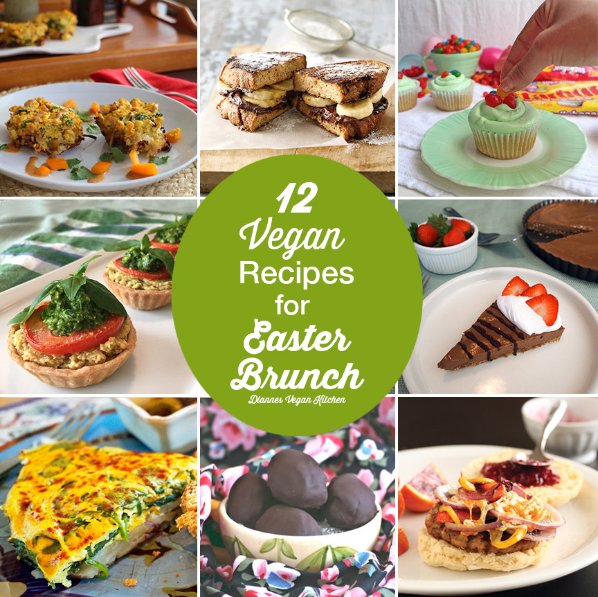 Vegetarian Easter Brunch Recipes  12 Vegan Recipes for Easter Brunch Dianne s Vegan Kitchen
