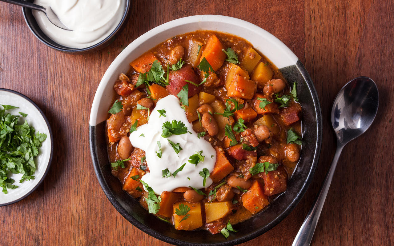 Vegetarian Entree Recipes  Mexican Ve able Stew Recipe Chowhound