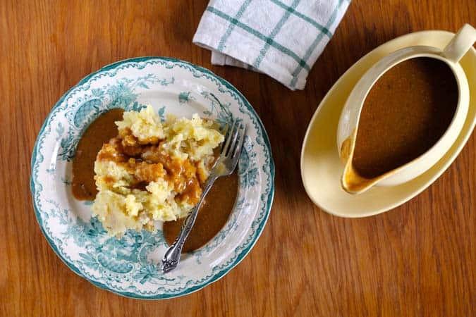 Vegetarian Gravy Recipe  amazing vegan gravy The Muffin Myth
