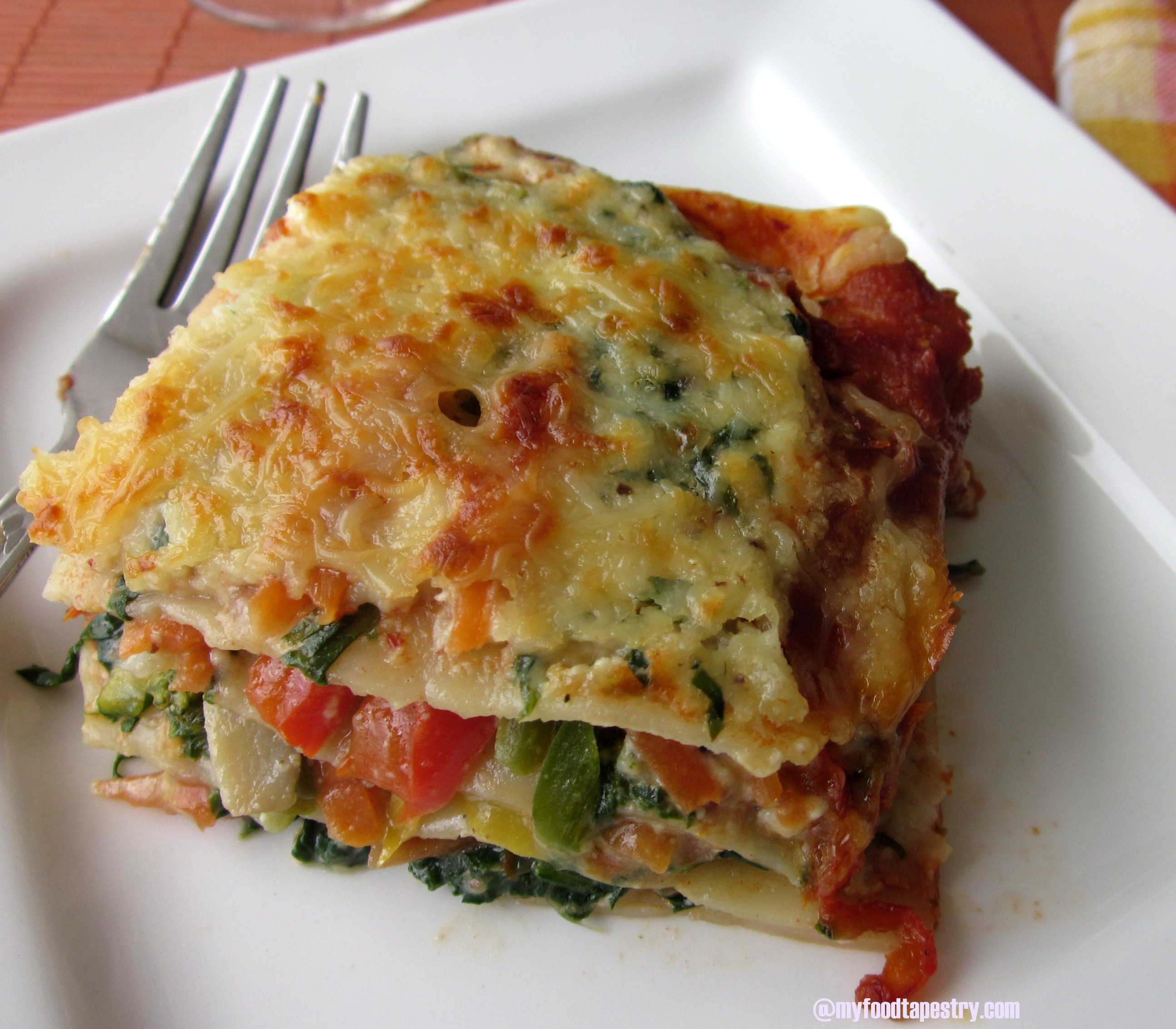 Vegetarian Lasagna Recipes  Egg Free Ve able Lasagne