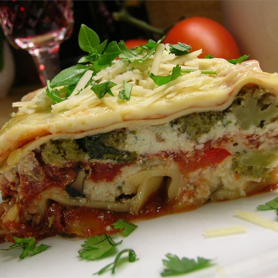 Vegetarian Lasagna Recipes  Ve able lasagne recipe All recipes UK