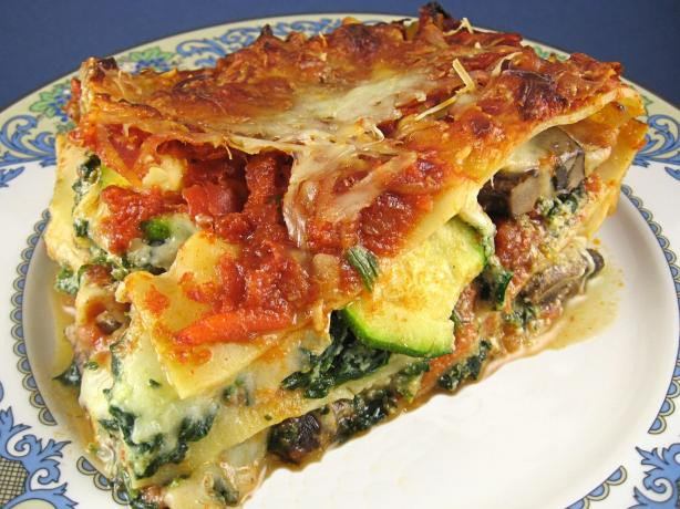 Vegetarian Lasagna Recipes  Ve arian Lasagna Recipe Food