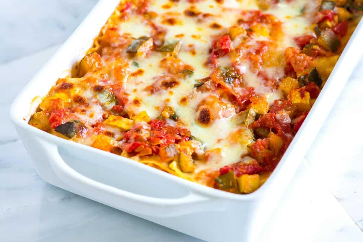 Vegetarian Lasagna Recipes  Crave Worthy Sausage and Beef Lasagna Recipe