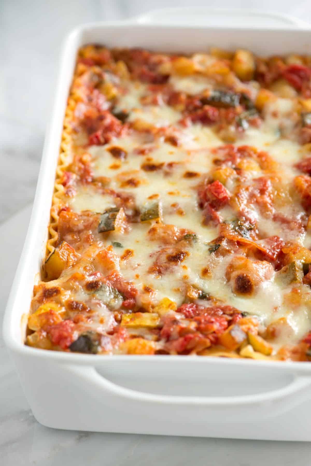 Vegetarian Lasagna Recipes  Easy Ve able Lasagna Recipe