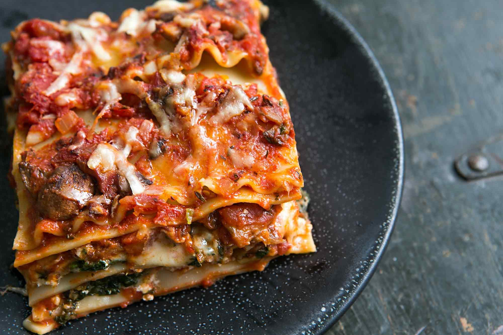 Vegetarian Lasagna Recipes  Ve able Lasagna A Favorite for All