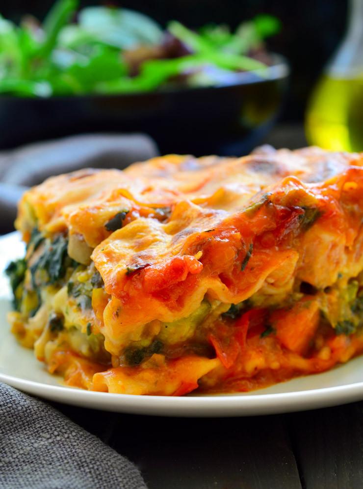 Vegetarian Lasagna Recipes  Vegan Lasagna