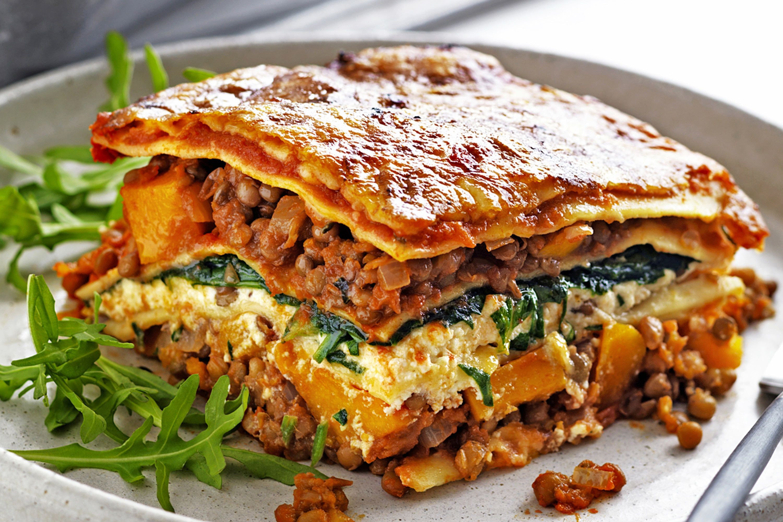Vegetarian Lasagna Spinach  ve arian lasagna spinach