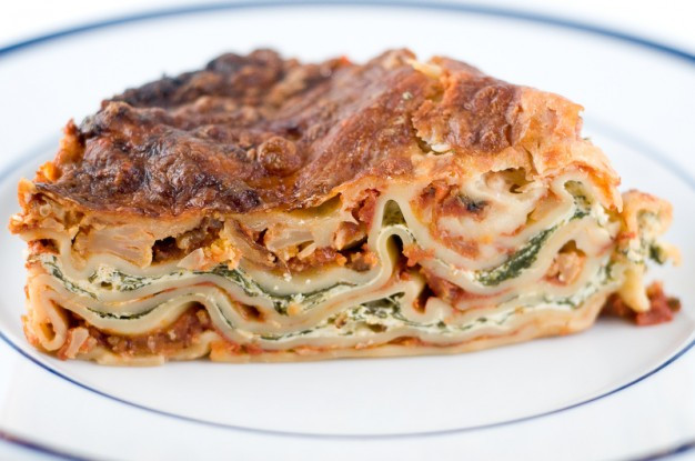 Vegetarian Lasagna Spinach  Ve arian Lasagna Recipe with Spinach and Ricotta Filling
