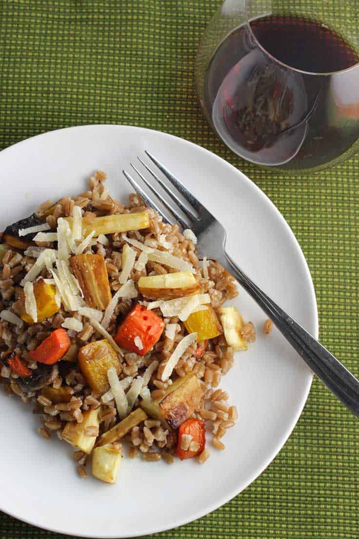 Vegetarian Main Dishes  Roasted Root Ve able Farro SundaySupper