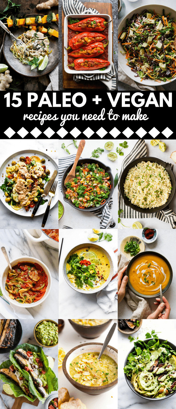 Vegetarian Paleo Diet  15 Savoury Vegan Paleo Diet Recipes You Need to Make A
