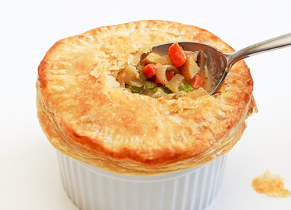 Vegetarian Pot Pie  Easy Ve arian Pot Pie Recipe