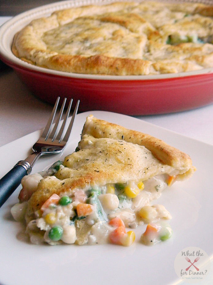 Vegetarian Pot Pie  Easy Ve able Pot Pie PiDay Mom s Test Kitchen