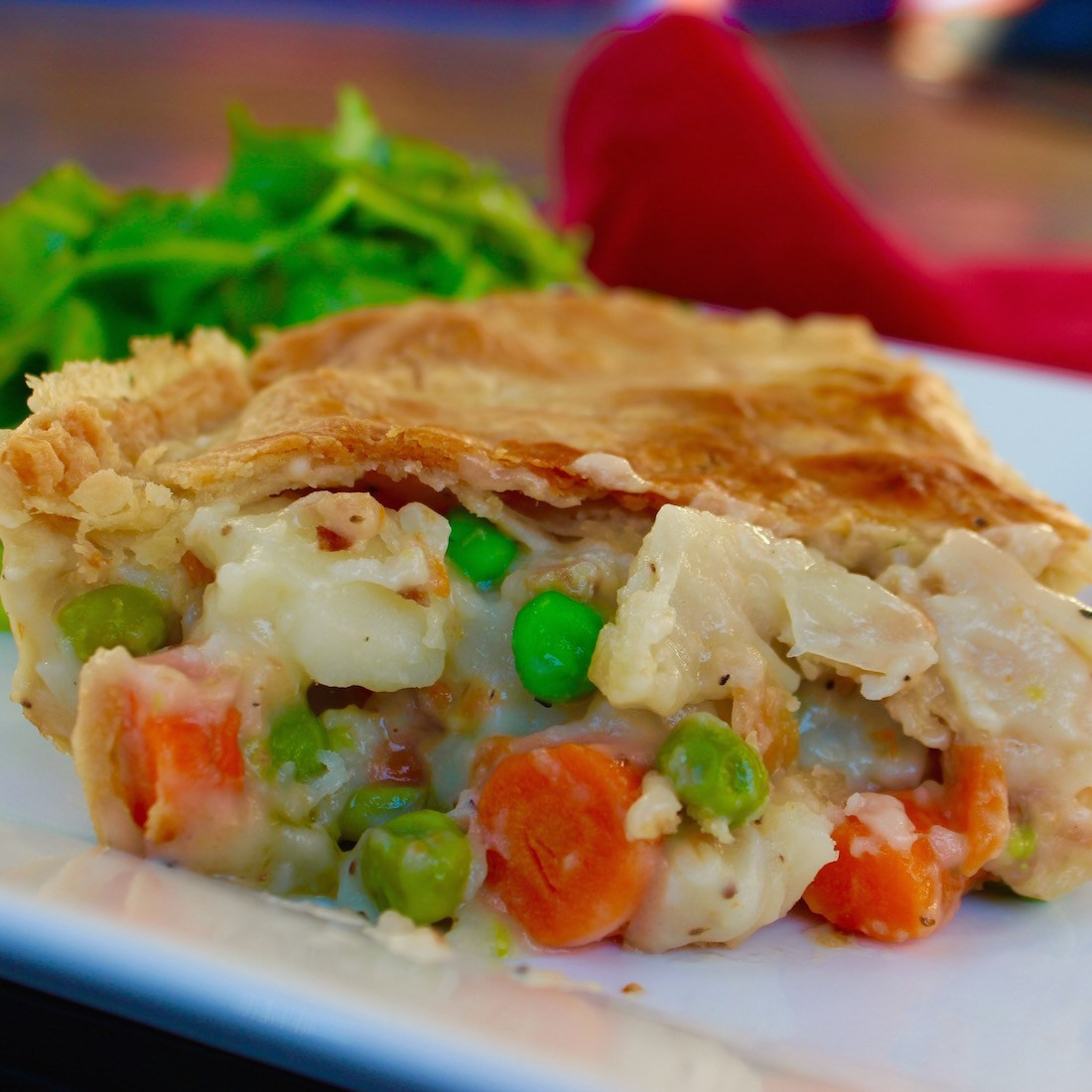 Vegetarian Pot Pie  The tastiest veggie pot pie recipe