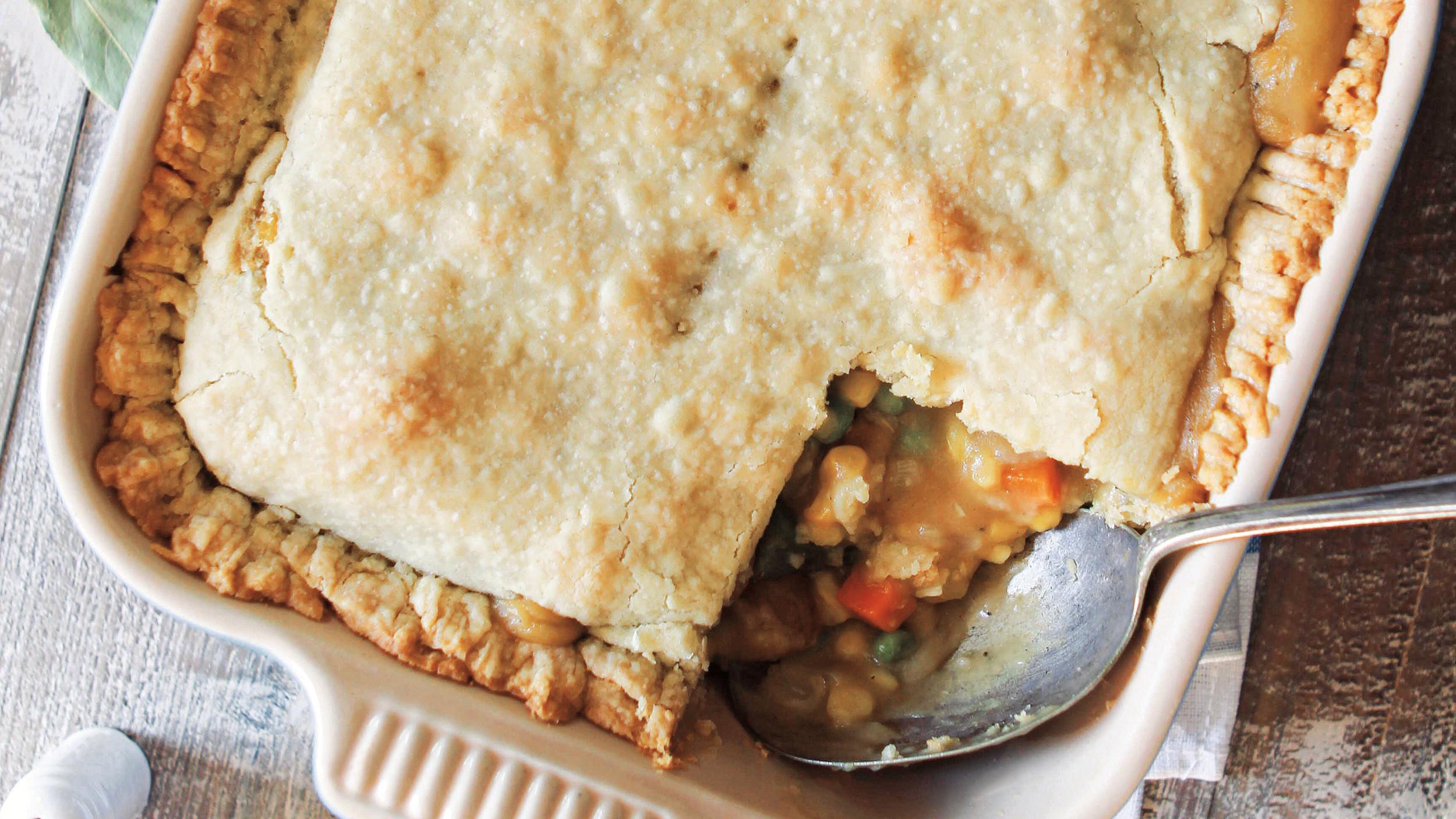 Vegetarian Pot Pie  Ve able Pot Pie TODAY