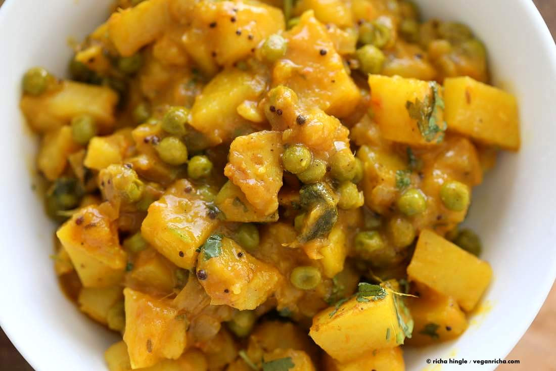 Vegetarian Potato Recipes  easy potato curry indian recipe