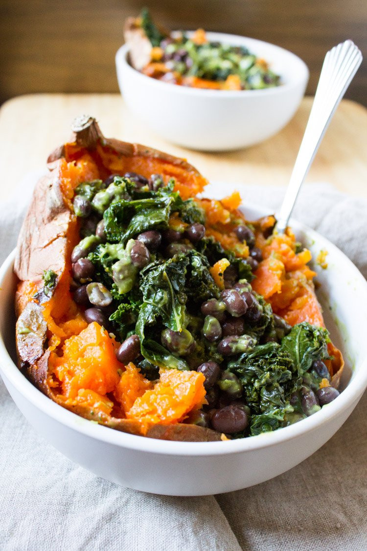 Vegetarian Potato Recipes  18 Baked Sweet Potato Recipes