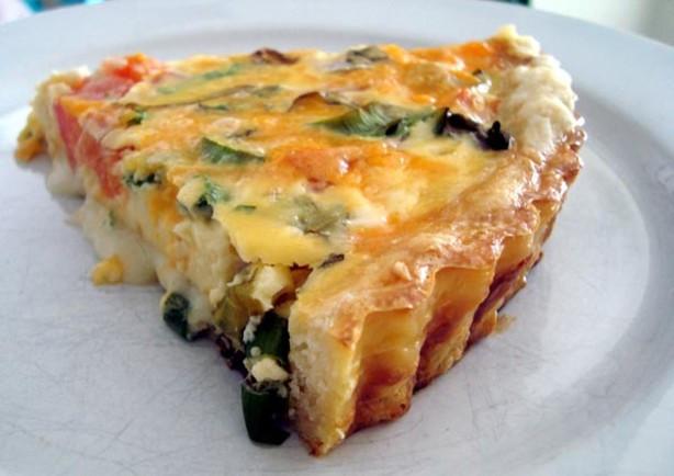 Vegetarian Quiche Recipe  Hillarys Ve arian Quiche Recipe Cheese Food