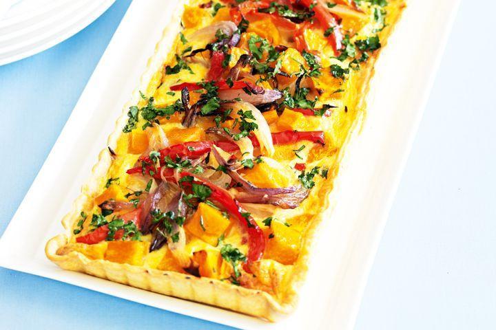 Vegetarian Quiche Recipe  Roast ve able quiche