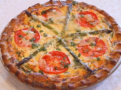 Vegetarian Quiche Recipe  Garden Ve able Quiche