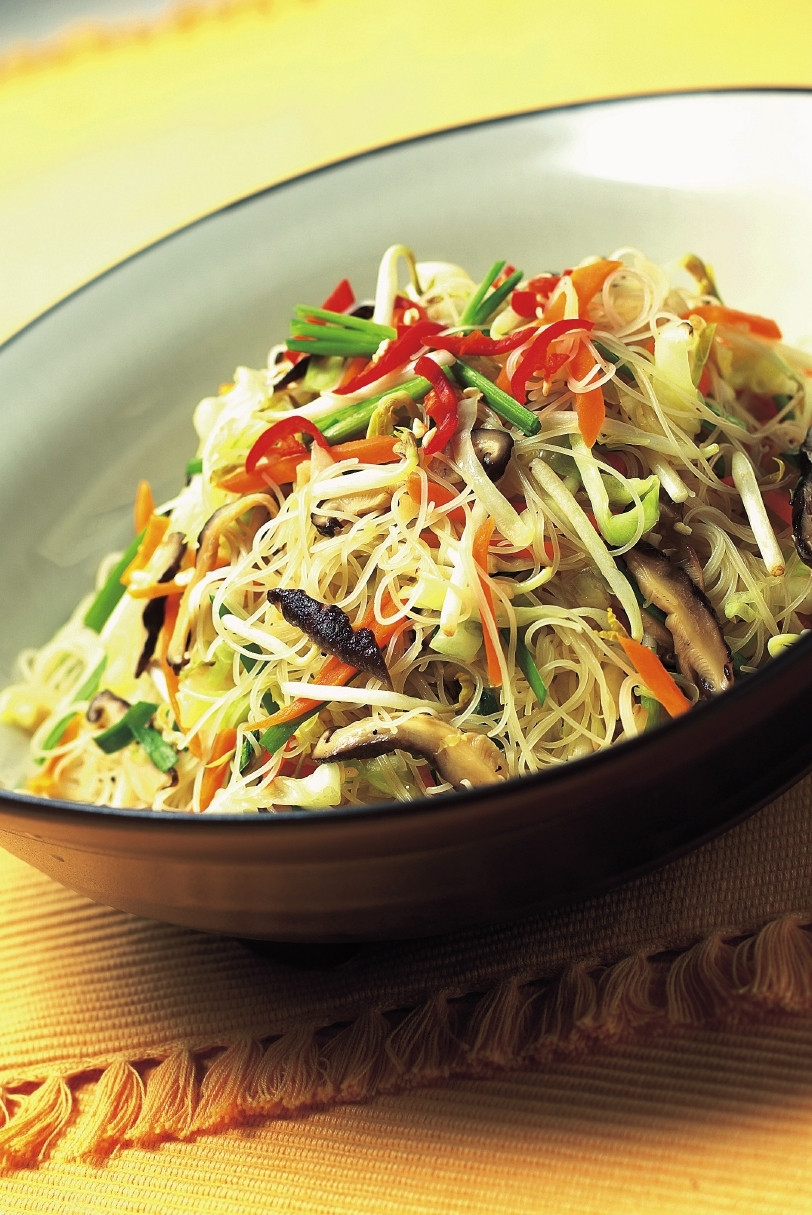 Vegetarian Rice Noodles Recipe  RECIPES FROM ASIA Looking for Asian recipes for any food