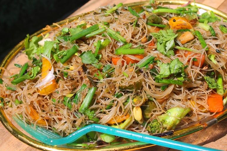 Vegetarian Rice Noodles Recipe  Stir Fried Rice Noodles Recipe Ve arian Rice Noodles
