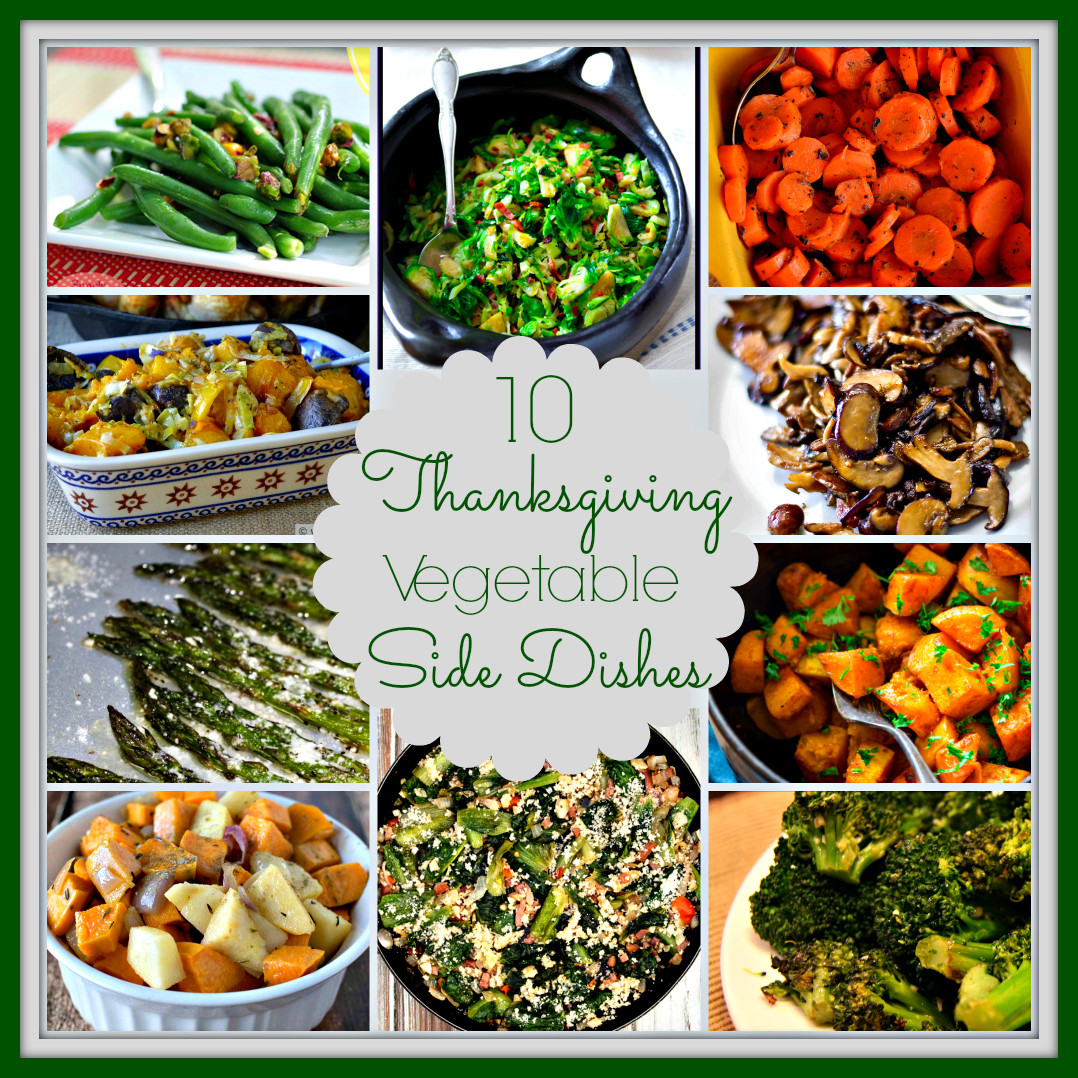 Vegetarian Side Dishes Recipes  10 Ve able Side Dishes for Thanksgiving Upstate Ramblings