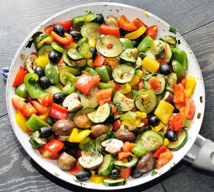 Vegetarian Side Dishes Recipes  Rainbow Ve able Side Recipe