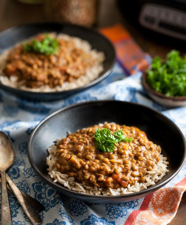 Vegetarian Slow Cooker Recipes  slow cooker lentil recipes ve arian
