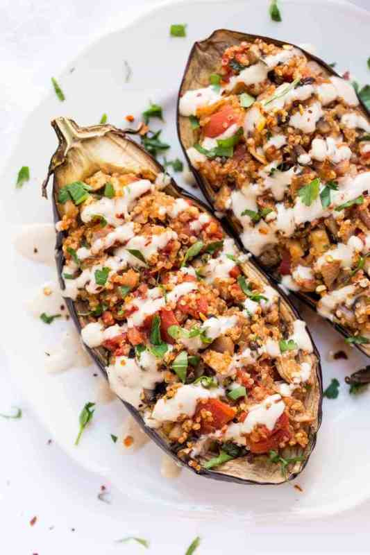 Vegetarian Stuffed Eggplant  Eggplant Recipes 20 Ways to Try This Nutritious and