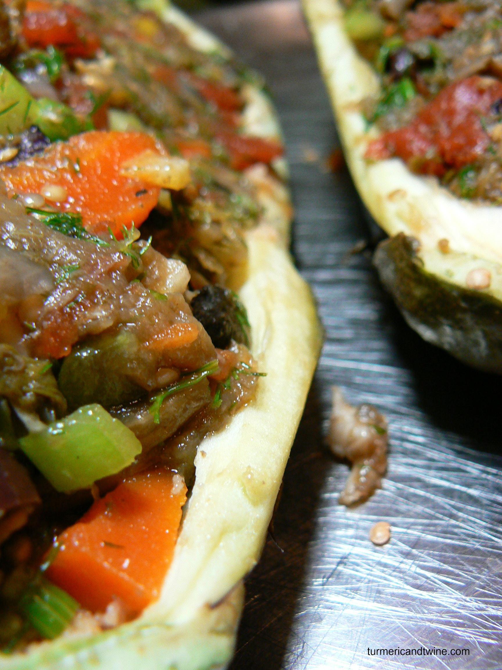 Vegetarian Stuffed Eggplant  brinjal eggplant – Turmeric and Twine