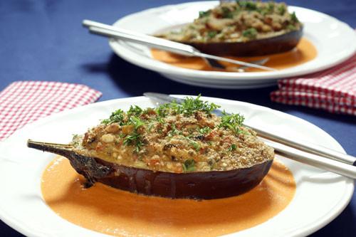 Vegetarian Stuffed Eggplant  Ve arian Stuffed Eggplant – Weiser Living