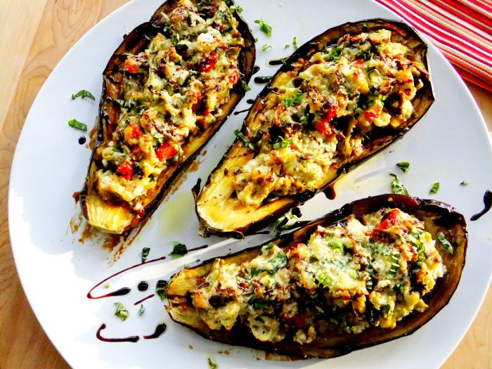 Vegetarian Stuffed Eggplant  Gallery Ve arian Stuffed Eggplant Recipes