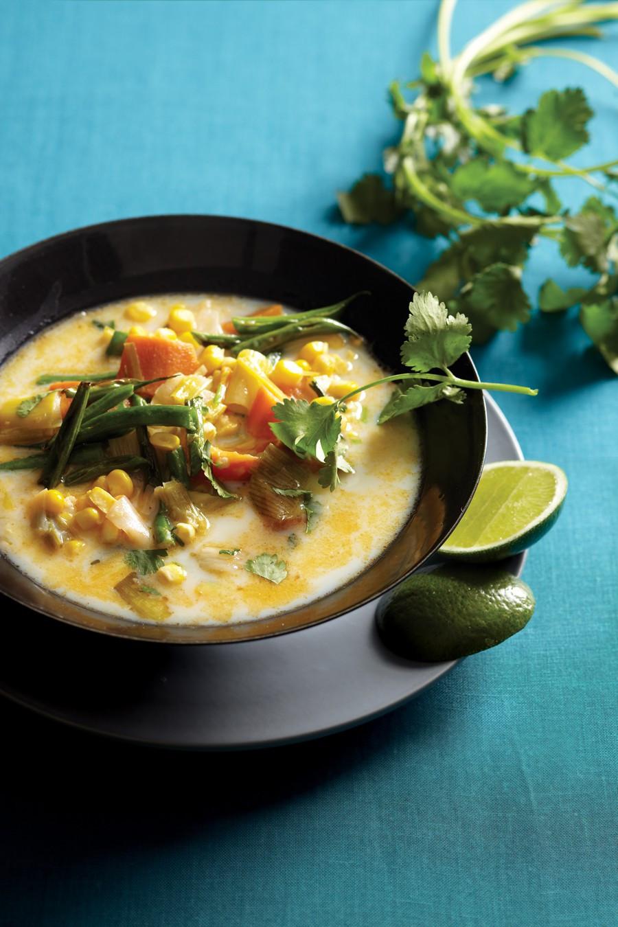 Vegetarian Times Recipes  Farmers' Market Chowder Recipe