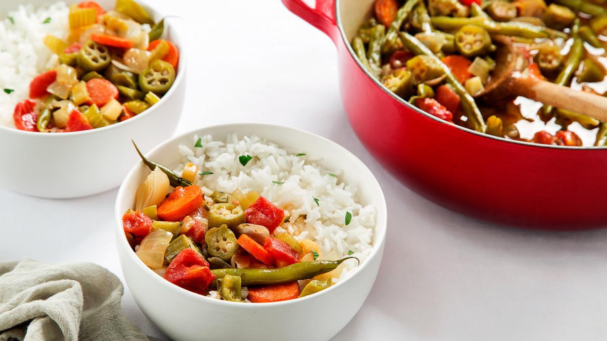 Vegetarian Times Recipes  Ve arian Gumbo Recipe Ve arian Times