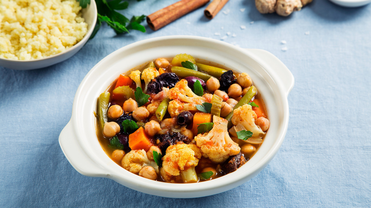 Vegetarian Times Recipes  Ve able Tagine Recipe Ve arian Times