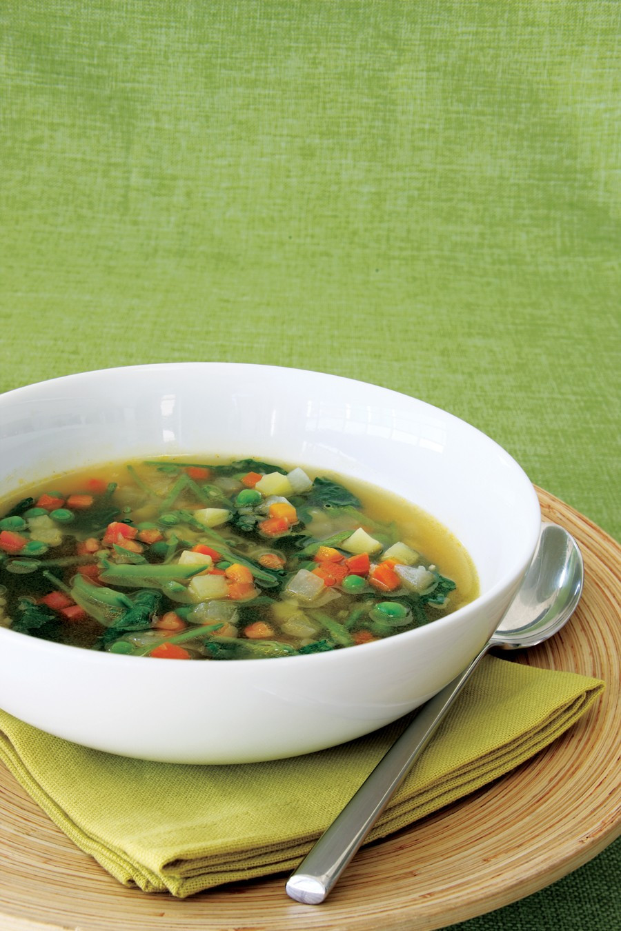 Vegetarian Times Recipes  Spring Ve able Minestrone Recipe