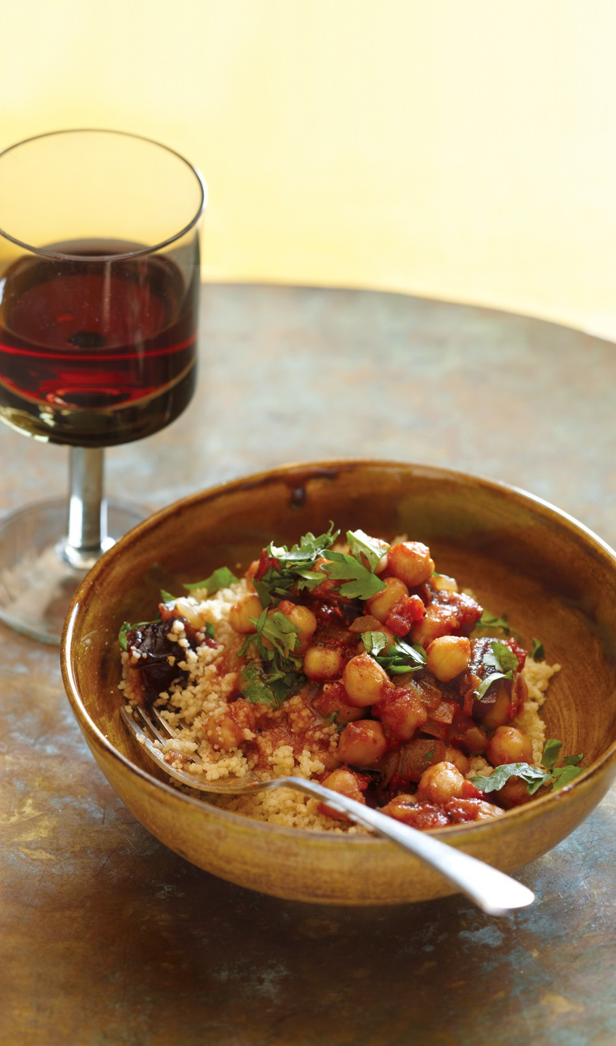 Vegetarian Times Recipes  Chickpea and Date Tagine Recipe
