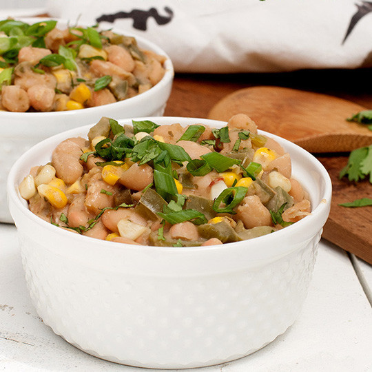 Vegetarian White Bean Chili  Ve arian White Bean ChiliRecipe
